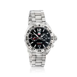 TAG Heuer Formula 1 Men's 41mm Stainless Steel Watch - Black Dial , , default
