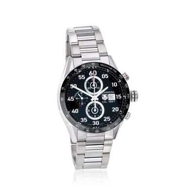 TAG Heuer Carrera Men's 43mm Chronograph Stainless Steel Watch