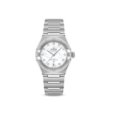 Omega Constellation Women's 29mm Automatic Stainless Steel Watch