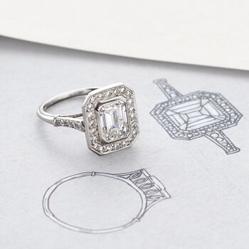 Majestic Collection 2.40 ct. t.w. Certified Diamond Ring in Platinum