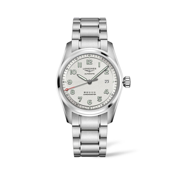 Longines Spirit Men's 40mm Automatic Stainless Steel Watch with Interchangeable Straps