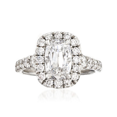 Henri Daussi 2.61 ct. t.w. Certified Diamond Ring in Platinum, , default