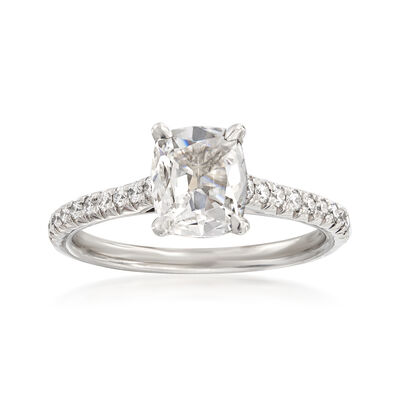 Henri Daussi 1.20 ct. t.w. Certified Diamond Engagement Ring in 18kt White Gold, , default