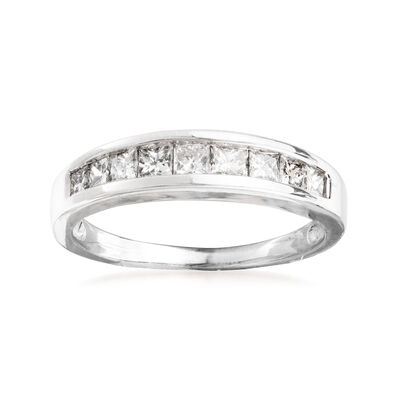 C. 2000 Vintage .70 ct. t.w. Diamond Ring in 14kt White Gold, , default