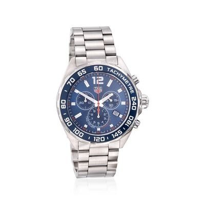 TAG Heuer Formula 1 Men's 43mm Chronograph Stainless Steel Watch, , default