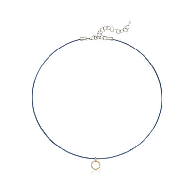 "ALOR Blue ""Classique"" .14 ct. t.w.  Diamond Pendant Necklace with 18kt Gold, , default"