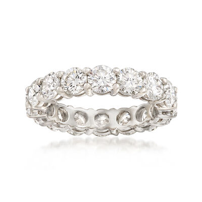 4.22 ct. t.w. Diamond Eternity Band in Platinum, , default