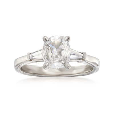 Henri Daussi 1.24 ct. t.w. Certified Diamond Engagement Ring in 18kt White Gold, , default