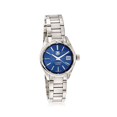 TAG Heuer Carrera Men's 28mm Automatic Stainless Steel Watch - Blue Dial