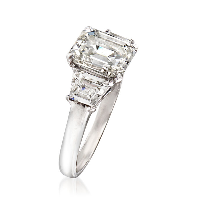 Majestic Collection 2.91 ct. t.w. Diamond Ring in Platinum