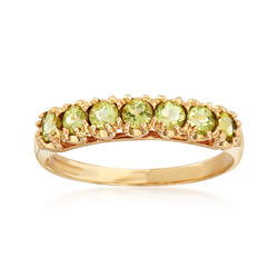 C. 1990 Vintage .50 ct. t.w. Peridot Ring in 10kt Yellow Gold , , default