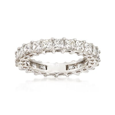 3.00 ct. t.w. Princess-Cut Diamond Eternity Band in Platinum