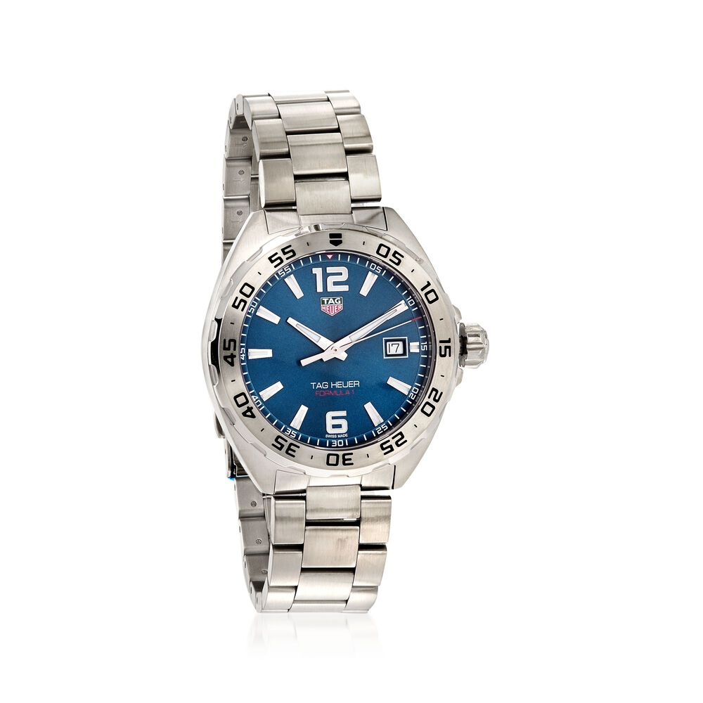 c1d0a08ee8b TAG Heuer Formula 1 41mm Men's Stainless Steel Watch - Blue Dial, , default