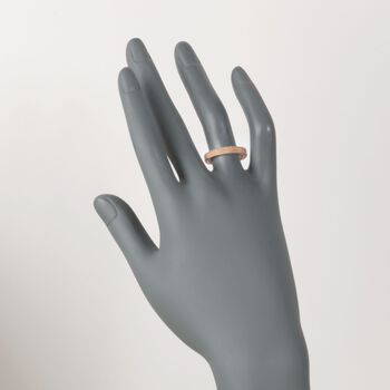 """Roberto Coin """"Symphony"""" Barocco Ring in 18kt Rose Gold"""