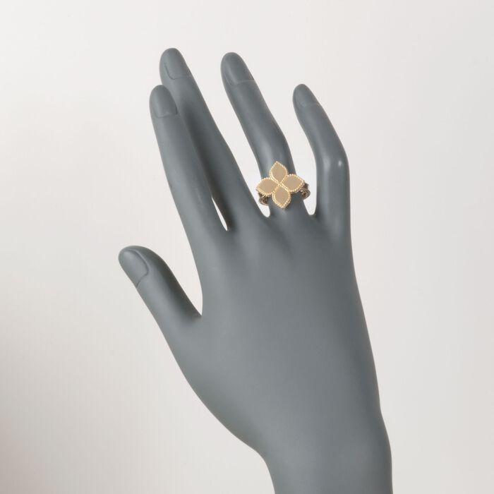 "Roberto Coin ""Princess"" 18kt Yellow Gold Flower Ring"