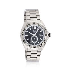 TAG Heuer Formula 1 Automatic Men's 43mm Stainless Steel Watch - Black Dial, , default