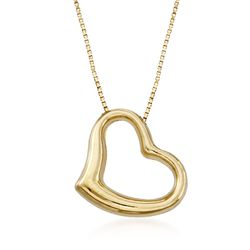 Roberto Coin 18kt Yellow Gold Heart Pendant Necklace, , default