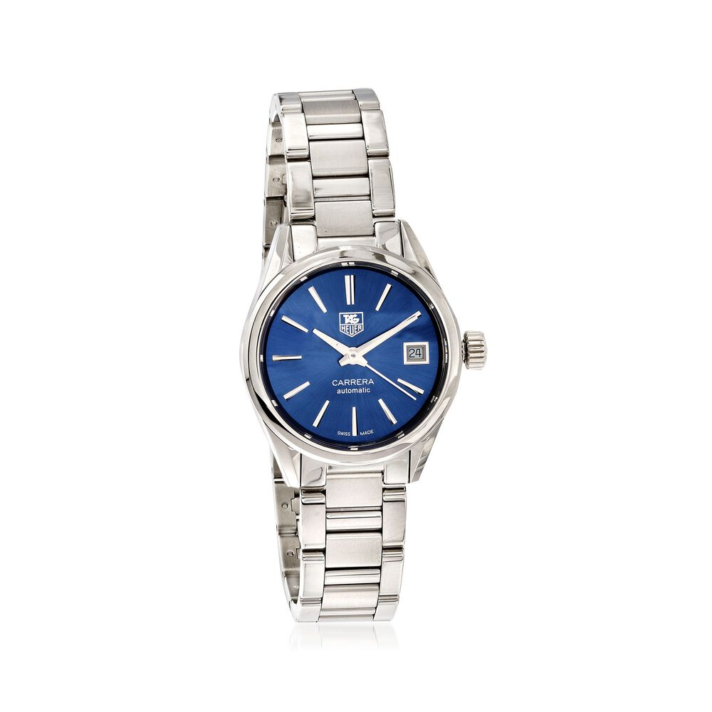 7f8020449d8 TAG Heuer Carrera 28mm Women's Automatic Stainless Steel Watch - Blue Dial,  , default