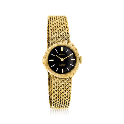 C. 1970 Vintage Geneva 14kt Yellow Gold Manual Watch