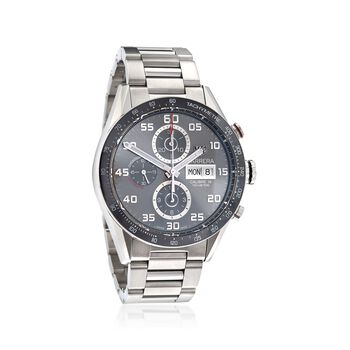 TAG Heuer Carrera 43mm Men's Auto Chronograph Stainless Steel Watch, , default