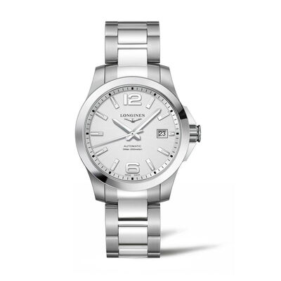 Longines Conquest Men's 39mm Automatic Stainless Steel Watch