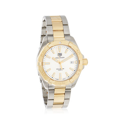 TAG Heuer Aquaracer Men's 41mm Two-Tone Watch, , default