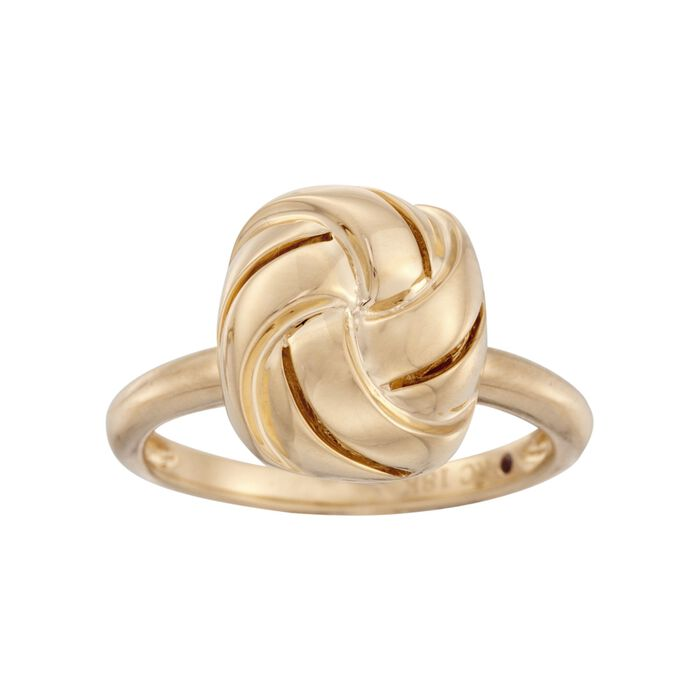 Roberto Coin 18-Karat Yellow Gold Love Knot Ring. Size 6.5, , default