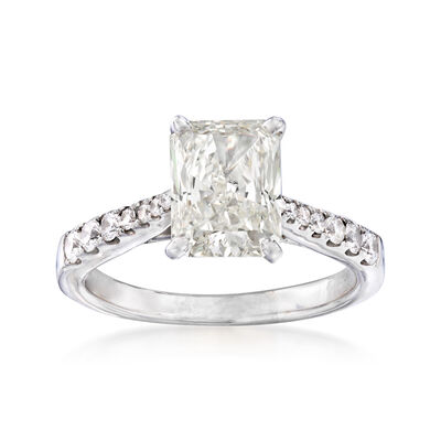 Majestic Collection 2.51 ct. t.w. Diamond Ring in 14kt White Gold, , default