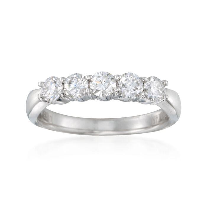 .75 ct. t.w. Diamond Ring in 14kt White Gold