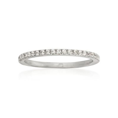 Gabriel Designs .15 ct. t.w. Diamond Wedding Ring in Platinum, , default
