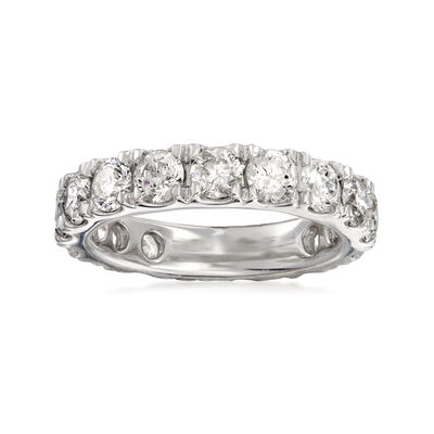 4.00 ct. t.w. Diamond Eternity Band in Platinum, , default