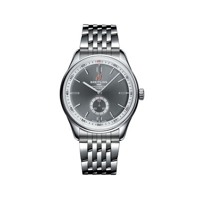 Breitling Premier Automatic Men's 40mm Stainless Steel Watch