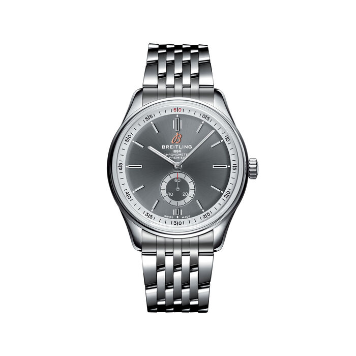Breitling Premier Automatic Men's 40mm Stainless Steel Watch, , default