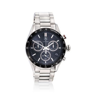 TAG Heuer Carrera Panamericana Men's 43mm Auto Chronograph Stainless Steel Watch, , default