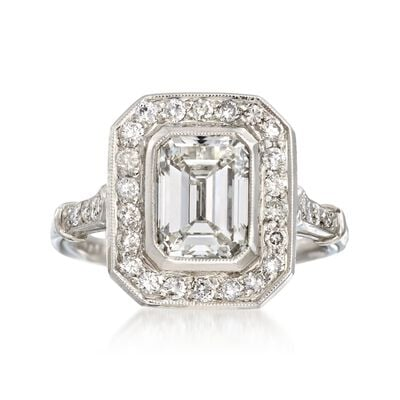 Majestic Collection 2.40 ct. t.w. Certified Diamond Ring in Platinum, , default