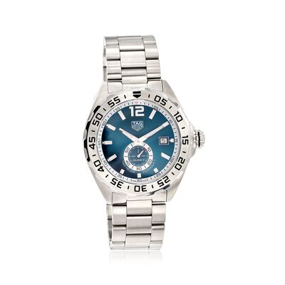 TAG Heuer Formula 1 Men's 43mm Automatic Stainless Steel Watch - Blue Dial, , default